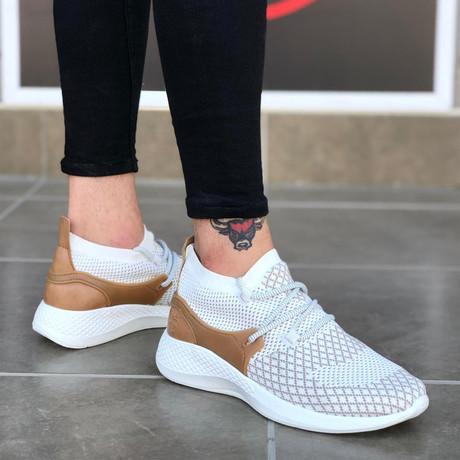 Dean Sneakers // White (Euro: 39)