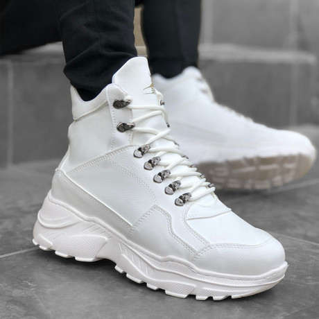 Leo Sneakers // White (Euro: 39)