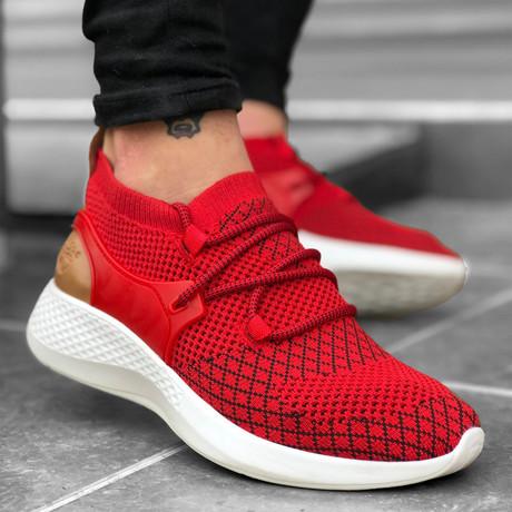 Felix Sneakers // Red (Euro: 39)