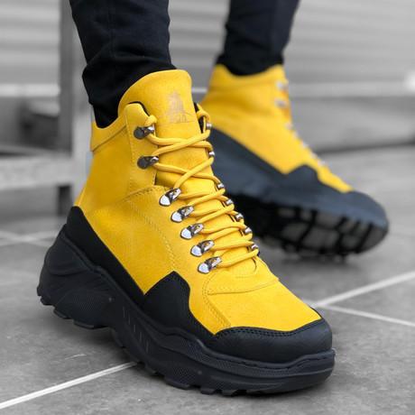 Ranger Sneakers // Yellow (Euro: 39)