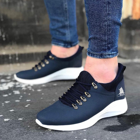Richard Casual Shoes // Navy Blue (Euro: 39)