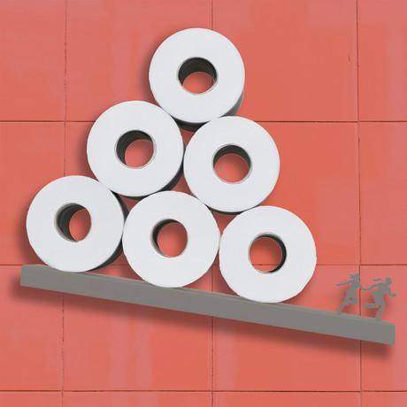 Avalanche // Toilet Paper Shelf