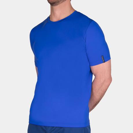 Scott Round Neck T-Shirt // Mykonos (Small)