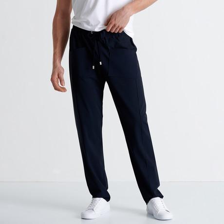 Yosemite Pants + External Drawcord // Navy (Small)