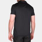 Jared Short Sleeve Polo // Black (Small)