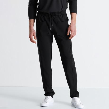 Yosemite Pants + External Drawcord // Black (Small)