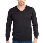 Ollie Sweater // Black (Small)