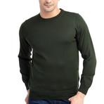 Scott Sweater // Khaki Green (Small)