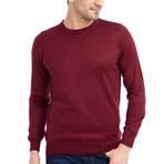 Kyle Sweater // Claret Red (Medium)