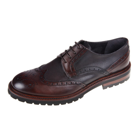 Oxford Shoe // Marron Brown (Euro: 40)