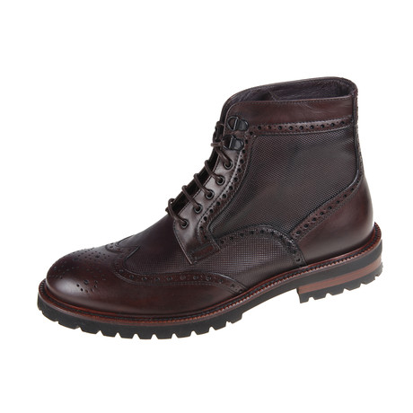 Anckle Pixel Boot // Brown (Euro: 40)