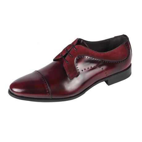 Derby Shoe // Bordeaux (Euro: 40)