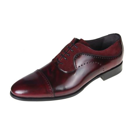 Oxford Shoe // Bordeaux (Euro: 40)
