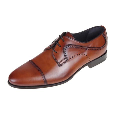 Derby Shoe // Tan (Euro: 40)