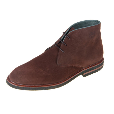 Derby Oil Shoe // Khaki Brown (Euro: 40)