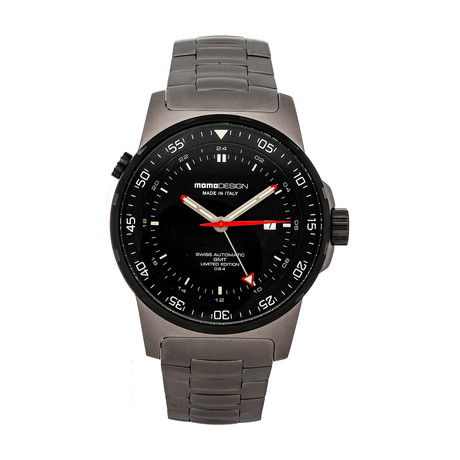 Momo Design GMT Automatic // MD095-DIVMB-01BK // Pre-Owned