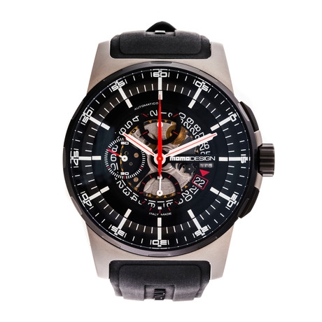 Momo Design Pilot's Chronograph Automatic // MD276-RB-04BKSK // Pre-Owned //