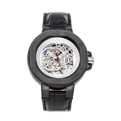 Clerc Icon 8 Automatic // I8SKA11 BLKSTEEL // Pre-Owned