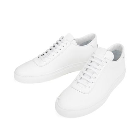Court Sneakers // White (Euro: 39)