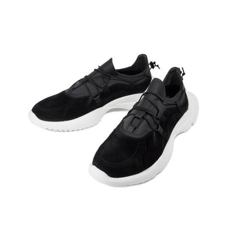 Suede Sneakers // Black (Euro: 39)