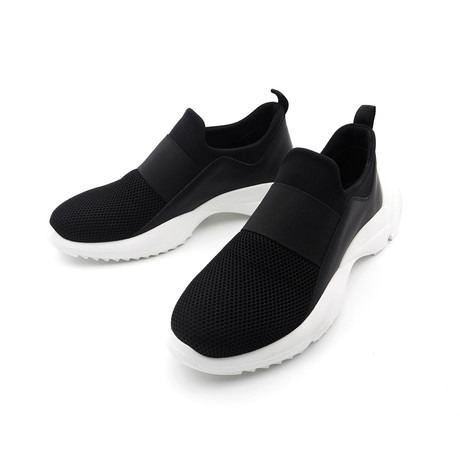 Strap + Lightweight Sneakers // Black (Euro: 39)