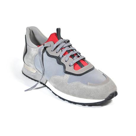 Metallic Reflective Sneakers // Gray (Euro: 39)