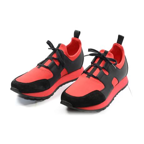 Hunter Runner Sneakers // Red + Black (Euro: 39)
