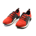Mars Casual Sneakers // Red + Black (Euro: 39)