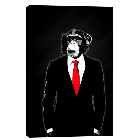 """Domesticated Monkey (18""""W x 26""""H x 0.75""""D)"""
