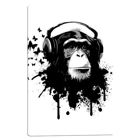 "Monkey Business (18""W x 26""H x 0.75""D)"