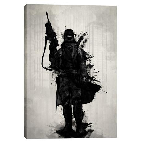 "Post Apocalyptic Warrior (18""W x 26""H x 0.75""D)"