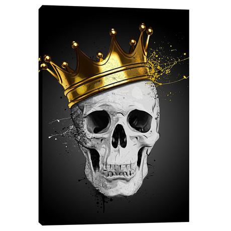 "Royal Skull (18""W x 26""H x 0.75""D)"