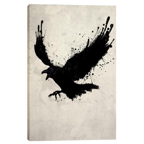"""Raven (18""""W x 26""""H x 0.75""""D)"""