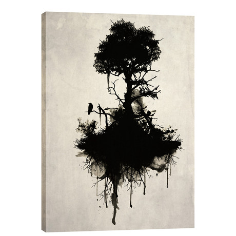"""Last Tree Standing (18""""W x 26""""H x 0.75""""D)"""