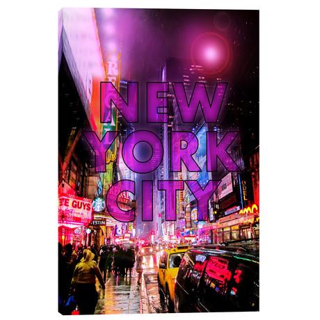"""New York City Color (18""""W x 26""""H x 0.75""""D)"""