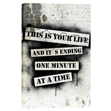 """This Is Your Life - Fight Club (18""""W x 26""""H x 0.75""""D)"""
