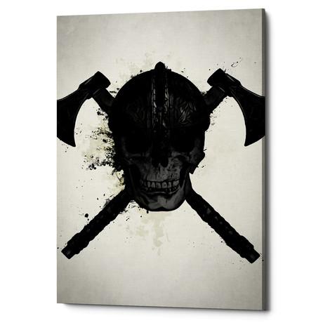 """Viking Skull (18""""W x 26""""H x 0.75""""D)"""