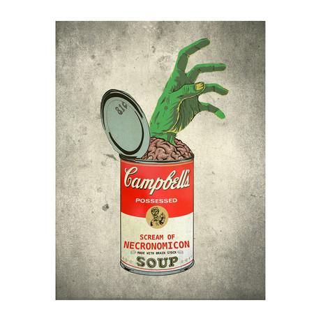 """Soup for Your Soul (Evil Dead) (11""""W x 14""""H)"""