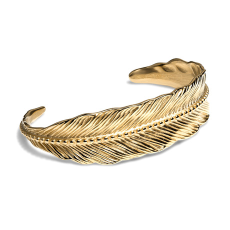 Feather // Gold (XS)