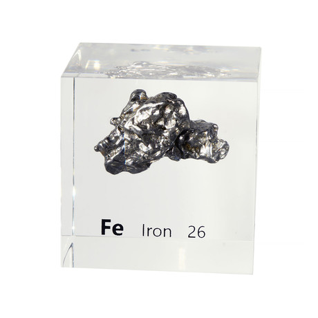 Lucite Cube // Iron