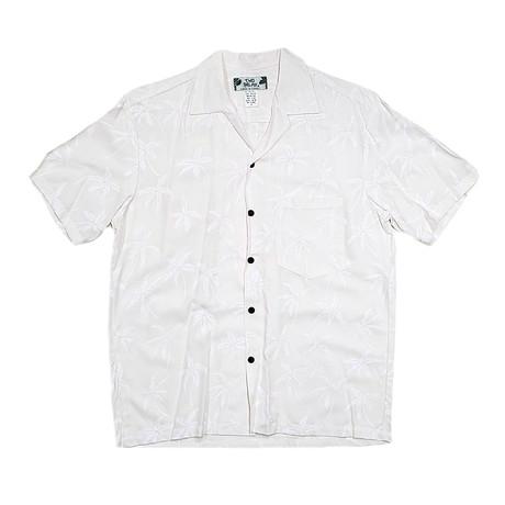 Palm Tree Shirt // White (Small)