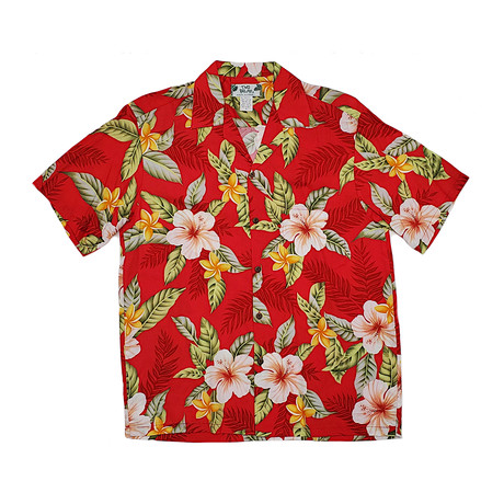 Leilani Shirt // Red (Small)