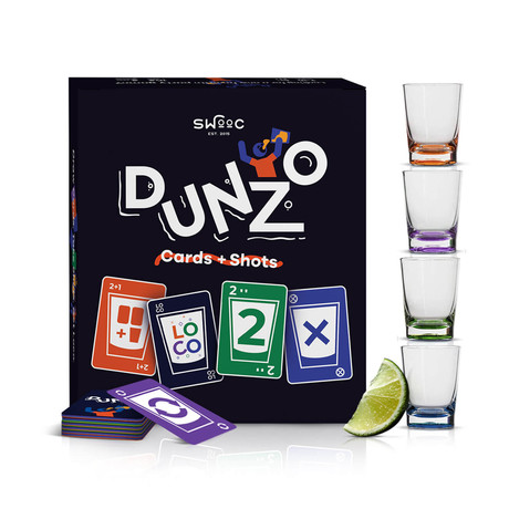 DUNZO - Cards + Shots Party Game