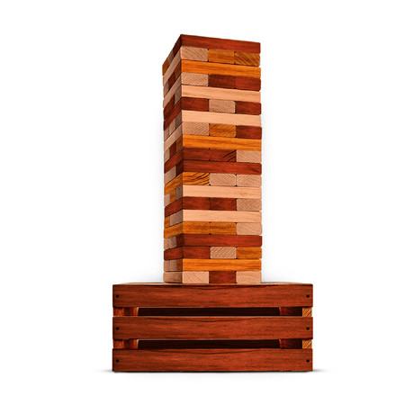 Reclaimed Wood Giant Tower Game