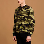 Camo Sweatshirt // Green (M)