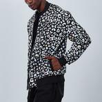 Cheetah Bomber Jacket // Black (S)