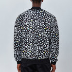 Cheetah Bomber Jacket // Black (2XL)