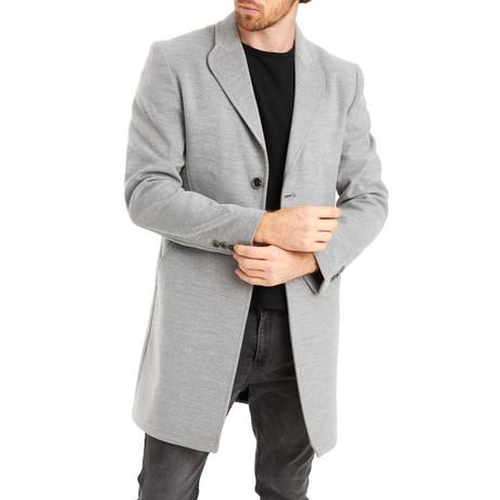 Dublin Overcoat // Gray (Medium)