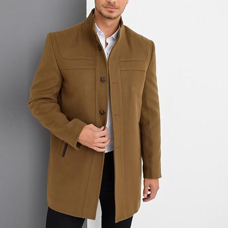 Crestone Overcoat // Camel (Medium)