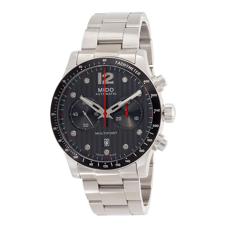 Mido Multifort Chronograph Automatic // M0256271106100 // New